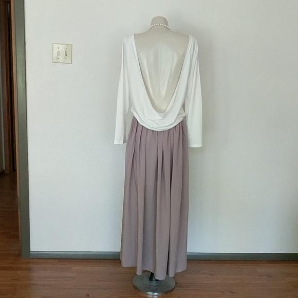 Fray Dresses & Skirts - Long sleeve open back dress